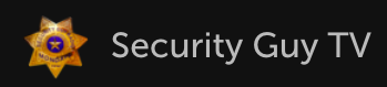 Security Guy TV logo