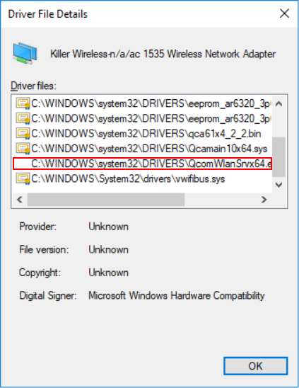 Modified Firmware in Wireless Network Adapter