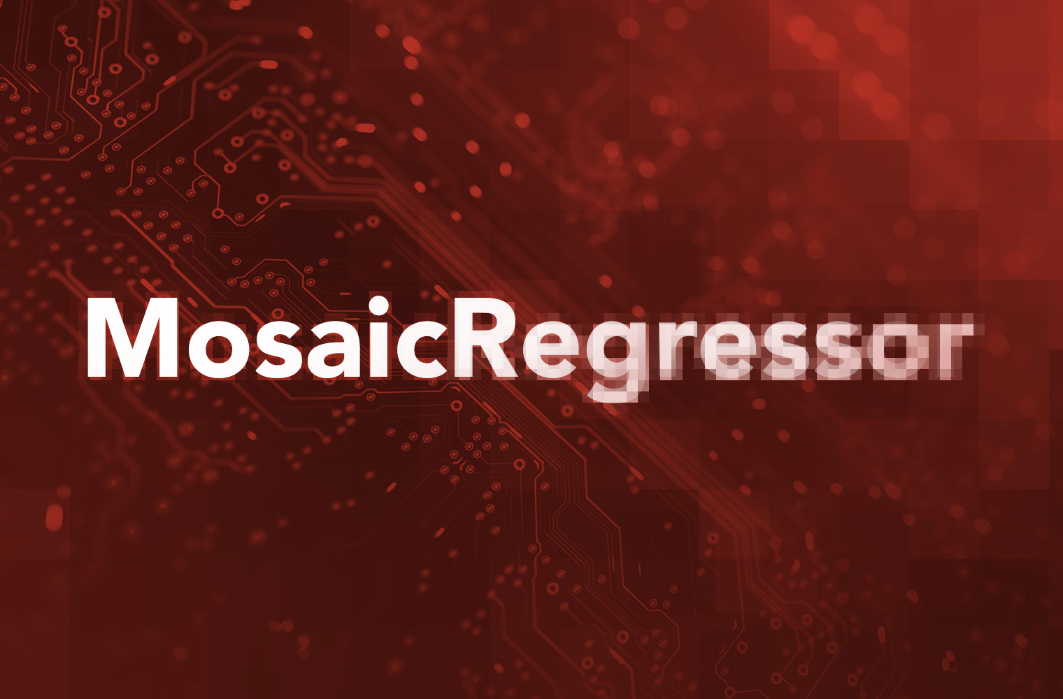 MosaicRegressor Feature Image | MosiacRegressor Pixelating