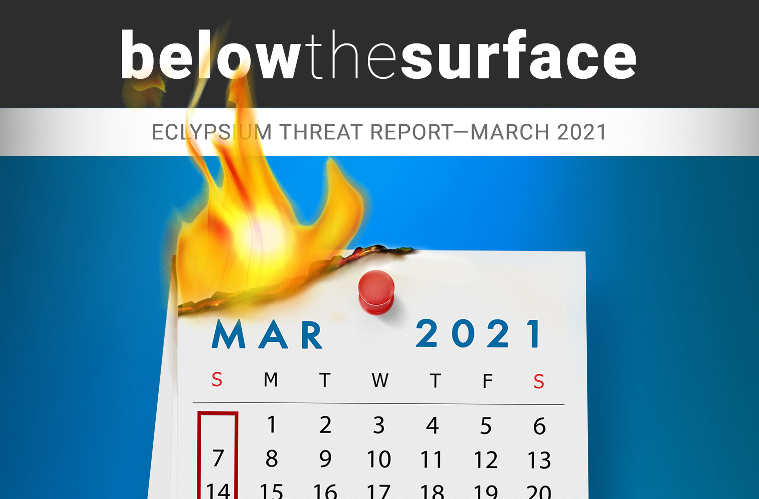 Below the Surface April 2021 Threat Report